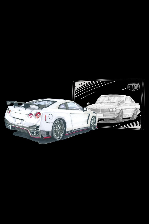 Nissan GT-R White (Przedsprzedaż)