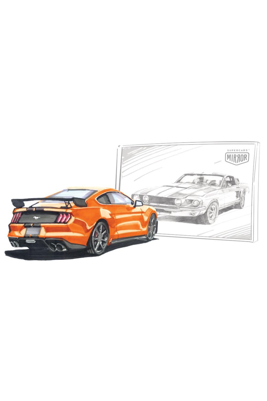 Ford Mustang Orange (Przedsprzedaż)