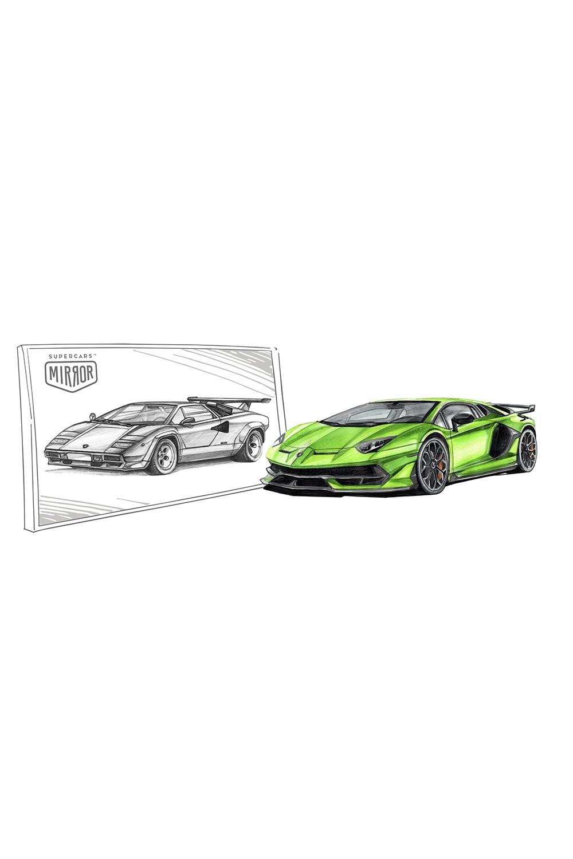 Lamborghini Aventador SVJ – Lamborghini Countach 500S