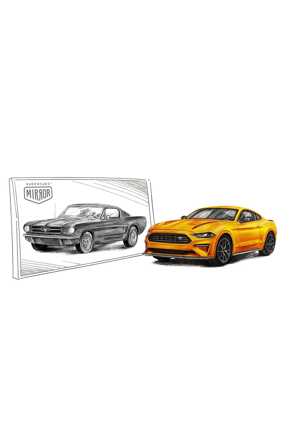 Ford Mustang VI – Ford Mustang I fastback